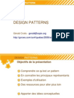 Atelier Design Patterns-Phpquebec 2009