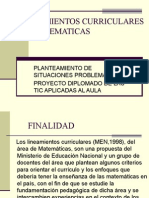 LINEAMIENTOS CURRICULARES
