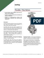 8C Throttle Trip Valves