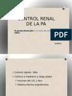 Control Renal de La PA