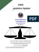 2008 Legislative Update