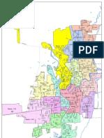 Racine Ward Map