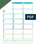 Weekly Planner - Flow