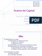Modification Du Capital