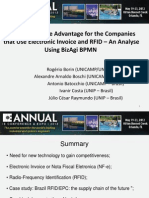 The Competitive Advantage for the Companies that Use Electronic Invoice and RFID – An Analyse Using BizAgi BPMN