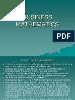 Business Mathematics 2