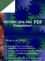 Presentation IsO 14001