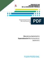 ESPECIALIZACIÖN ELECTROMEC-AUTOMOTRIZ II