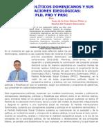 PARTIDOS POLÍTICOS DOMINICANOS Y SUS DESVIACIONES IDEOLÓGICAS