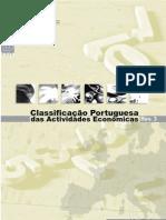 Classificação Portuguesa das Actividades Económicas-2007-Rev3