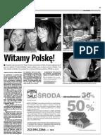 Witamy Polskę!