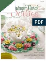 Vintage Floral Doilies