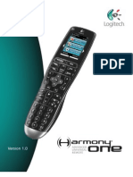 Logitech Harmony One Manual