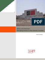 China Pakistan Emerging Strains in the Entente Cordiale Kardon