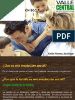 LA FAMILIA COMO INSTITUCIÓN SOCIAL