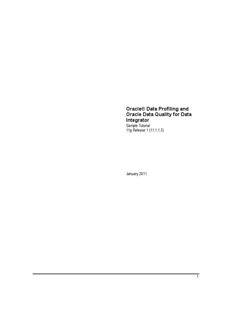 Oracledq tutorial 132022 data quality oracle database baditri Gallery