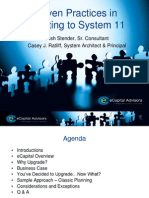 Proven Practices in Migrating to System 11_March HUG Meeting