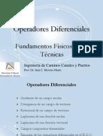 TEMA 2 (55)  Operadores Diferenciales