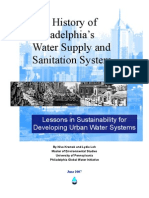 The History of Philadelphia's Water Supply and Sanitation System