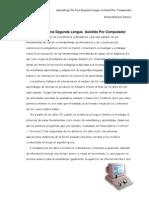 Aprendizaje de Una Segunda Lengua Asistido Por Ordenador