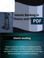 Islamic Banking in Theory and Practice