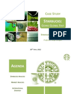 strategic fit analysis of starbucks coffee At starbucks' annual meeting today, investors will be listening closely to see if there is any discussion of the java giant's interest in peet's coffee & tea rumors.