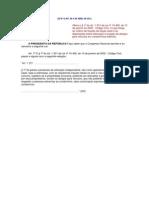 alteração codigo civil
