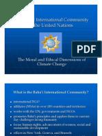 Tahirih Climate Change Presentation