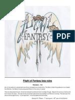Flight of Fantasy Larp Rules 1.6