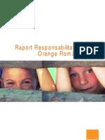 Orange Raport Csr