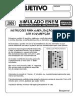Simulado Enem -CN - Objetivo