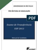 manual de transferência usp