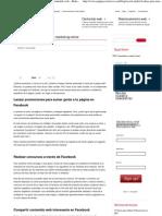 4 ideas para usar Facebook en marketing online _ Contenido web – Redacciones – Equipos Creativos