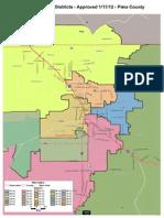 Final Legislative Districts - Pima 8x11