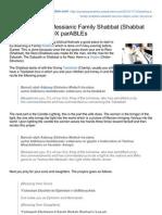 Paradoxparables.justparadox.com-How to Lead a Messianic Family Shabbat Shabbat SiddurnbspnbspparaDOX ParABLEs