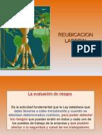 Reubicacion Laboral Mayo 2012