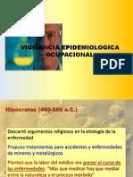 VIGILANCIA EPIDEMIOLOGICA LABORAL