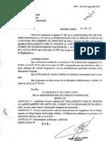 RES. 249-07 PD 1°PARTE