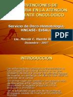intervenciones de enfermeria