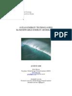 Ocean Energy Technologies