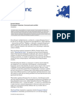 Eurozine Editorial European Histories- Concord and Conflict