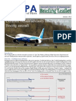 Certified vs Advisory Data on Boeing Aircraft