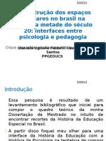 A construção dos espaços escolares no Brasil na primeira metade do século 20