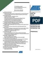 Atmel - AT32UC3A Series - AVR32 RISC 32-Bit Micro Controller (Doc32058)