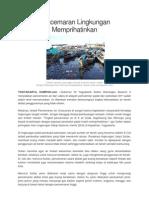 Pencemaran Lingkungan Memprihatinkan