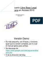 Manual Usuario Libre Base Legal a en Access