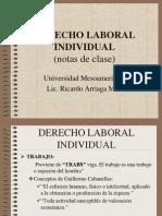 Derecho Laboral Individual