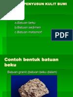 Batuan Penyusun Kulit Bumi