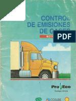 Control de emision de gases ´´DIESEL´´