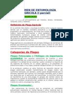 Clases Ento Agricola I - Primer Parcial